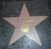 bette davis hollywood walk of fame