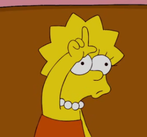 Lisa Simpson Loser