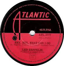Led Zeppelin Hey Hey What Can I Do